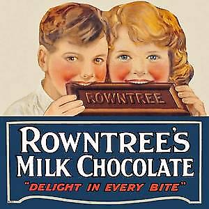 Rowntrees Milk Chocolate kids drinks mat / coaster