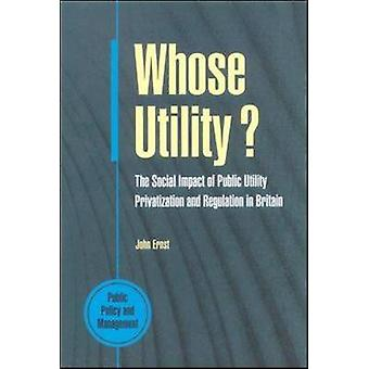 Whose Utility by Ernst & John