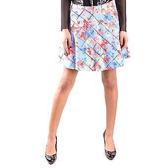 Falda de algodón Multicolor de Liu Jo