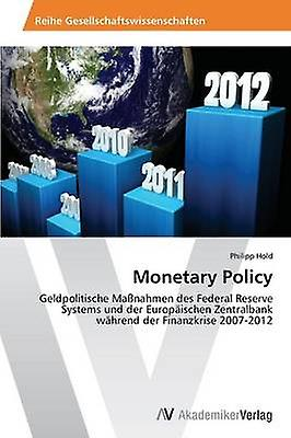 Monetary Policy by Hold Philipp