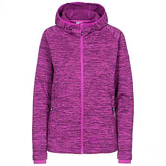 Overtreding Womens Riverstone mergel Full Zip Hooded Fleece jas