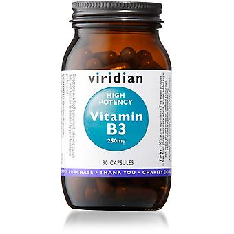 Viridian High Potency Vitamin B3 90veg caps