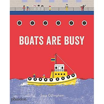 Boats Are Busy by Sara Gillingham - 9780714876719 Book