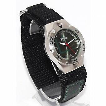 Quadrante verde analogico al quarzo riflesso & Green facile fissare Gents - Mens Watch VEL01G