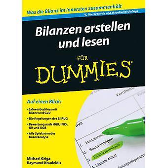 Bilanzen Erstellen und Lesen Fur Dummies (4th Revised and updated ed)