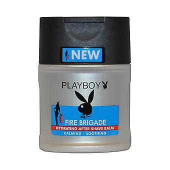 Playboy Fire Brigade Hydrating After Shave Balm 100ml Calming Soothing