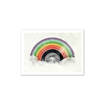 Konst-affisch-vinyl Spectrum 50 x 70 cm