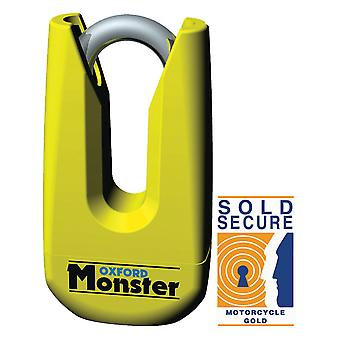 Oxford Yellow Monster Disc Motorcycle Lock