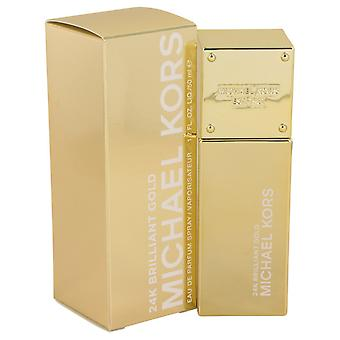 Michael Kors 24K Brilliant Gold by Michael Kors Eau De Parfum Spray 1.7 oz / 50 ml (Women)