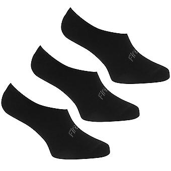 Firetrap Womens 3 Pack Invisible Socks