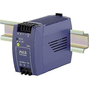 PULS MiniLine ML50.100 Rail mounted PSU (DIN) 24 Vdc 2.1 A 50 W 1 x