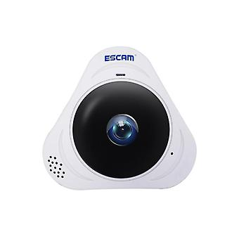 Escam q8 360 degree panoramic ip camera - 960p, night vision,  motion detection, two way audio, support onvif protocol (white)