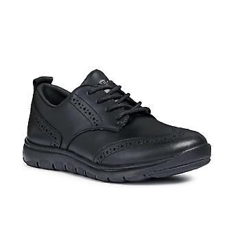 Geox J Xunday Boy B Lace Up Trainers
