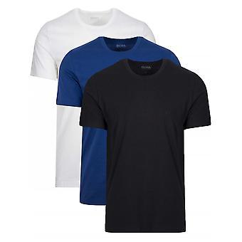 Boss BOSS Multi-Coloured 3-Pack Crew Neck T-Shirt