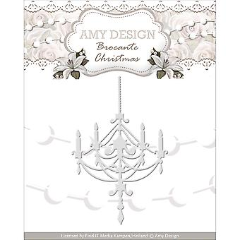 Find It Trading Amy Design Brocante Christmas Die-Chandelier ADD10034