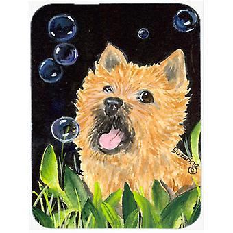 Cairn Terrier Glass Cutting Board Large