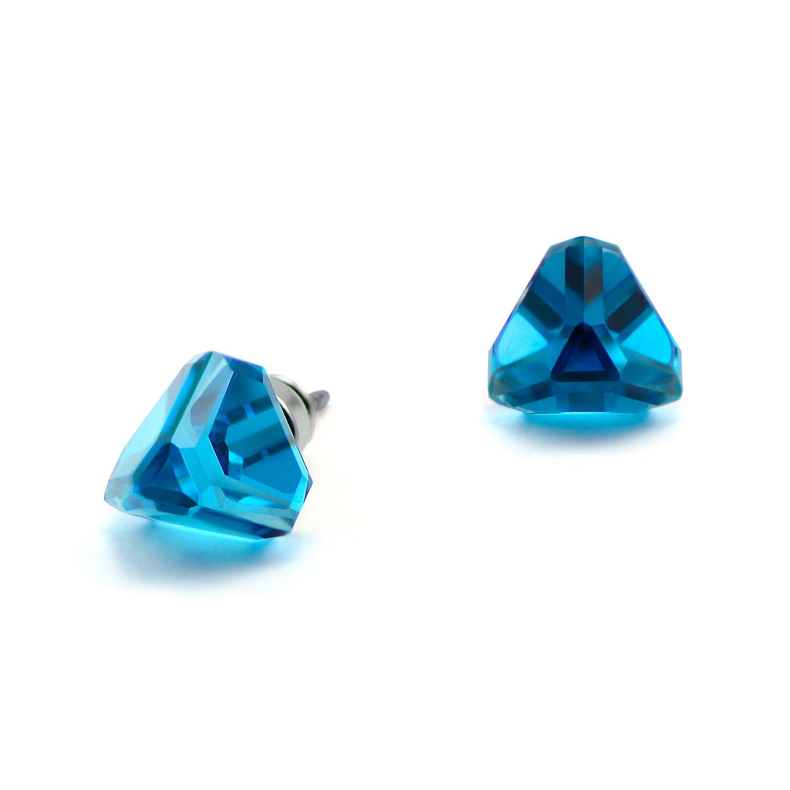 Blue stud earrings EMB 13.2