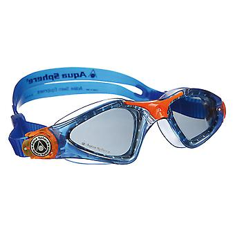 Aqua Sphere Kayenne Junior Goggle - Rauch-Objektiv - Blau/Orange