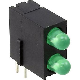 LED component Green (L x W x H) 13.4 x 13.35 x 5 mm Dialight