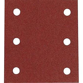 Sander paper Hook-and-loop-backed Grit size 100 (L x W) 102 mm x 115 mm Makita P-33118 10 pc(s)