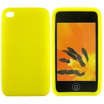Silicone case iPod Touch 4 (jaune)