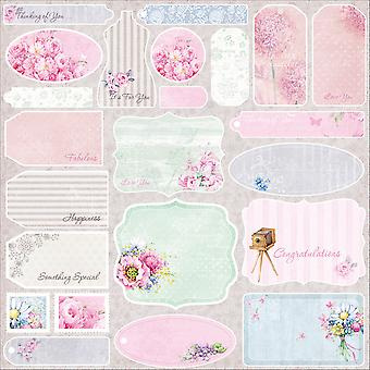 ScrapBerry de zomer vreugde ' Single-Sided Cardstock 12