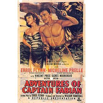 Adventures of Captain Fabian Movie Poster Print (27 x 40)
