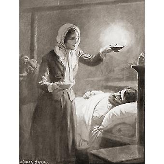 Florence Nightingale 1820 PosterPrint