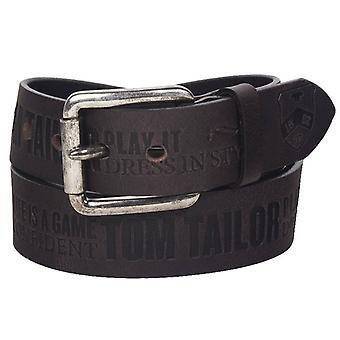 Tom tailor buckle leather belt TG1006R06-680