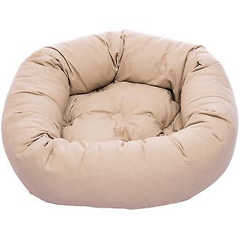 Dog Gone Smart Donut Bed Sand 89cm