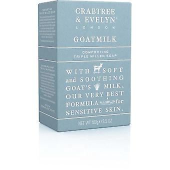 Crabtree & Evelyn - Goatmilk - sensible de la piel jabón