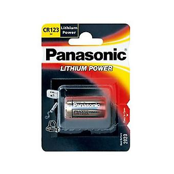 Panasonic Camera Battery 3V CR123 Lithium