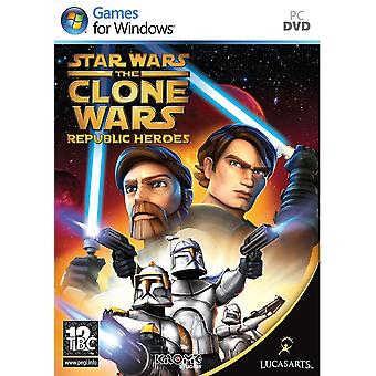 Star Wars The Clone Wars - Republic Heroes PC DVD