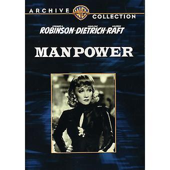 Manpower [DVD] USA import