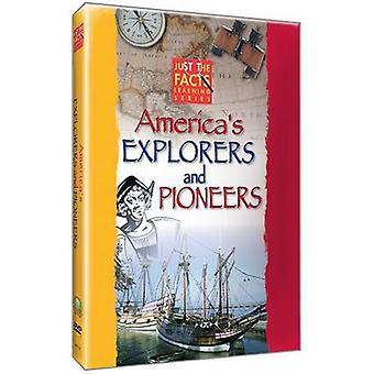 Bare fakta - Americas opdagelsesrejsende & pionerer [DVD] USA importerer