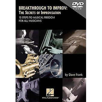 Genombrott till Improv: The Secrets av Improvisati [DVD] USA import