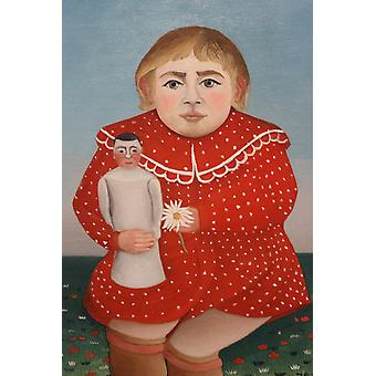 Henri Rousseau - Child in Red Poster Print Giclee
