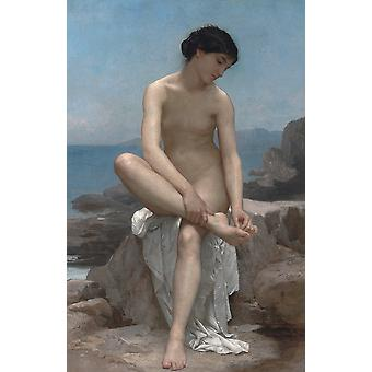 William Bouguereau - The Bather 1879 Poster Print Giclee