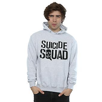 Selvmord Squad mænds film Logo hættetrøje