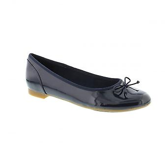 Clarks Couture Bloom - Navy Patent (Leather) Womens Shoes Various