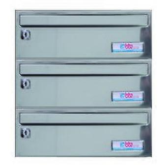BTV Buzon Barajas 345X250X120 G3 Stainless Steel