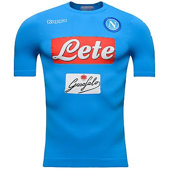 2016-2017 Napoli Kappa authentiek thuis Shirt