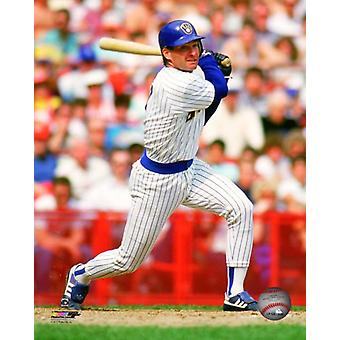Paul Molitor Action Photo Print