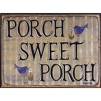 Porch Sweet Porch Poster Print by Lisa Hilliker (12 x 9)