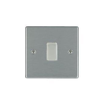 ハミルトン Litestat ハートランド サテン ステンレス 1 g 10AX 2 Way ライト スイッチ
