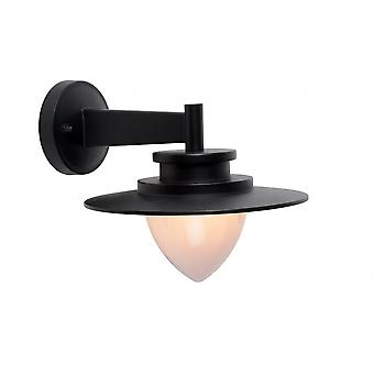 Lucide SESMA Wall Light IP54 G9/20W H22cm Black