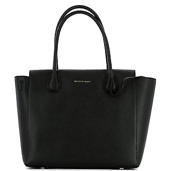 Michael by Michael Kors women's 30H6GM9S3L001 black leather tote