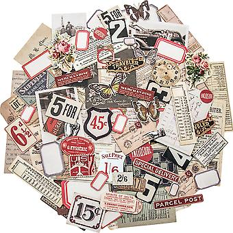 Idea-Ology Ephemera Pack 111/Pkg-Snippets Tiny Die-Cuts TH93564