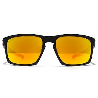 Oakley Sliver Sunglasses In Polished Black Fire Iridium