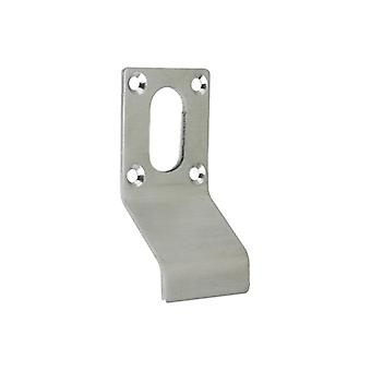 Zoo Cylinder Latch Pull - Oval Profile - Satin Stainless - ZAS17SS